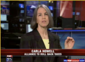 Carla Howell interviewed on Fox TV during 2010 Roll Back Taxes ballot initiative