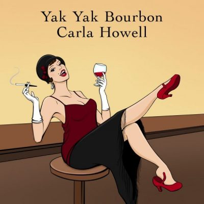 Yak Yak Bourbon Carla Howell Flapper lady getting drunk at speakeasy during Alcohol Prohibition